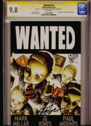 Wanted #4 CGC Comics Signature Series SS 9.8 Signed J.G. Jones Top Cow comic book